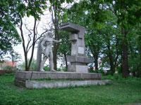 Пам'ятник на Пагорбі Слави, загиблим за Любінь під час Другої світової війни