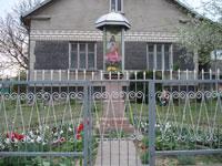 Фіґура Ісуса Христа при в'їзді до Великого Любеня зі сторони Львова